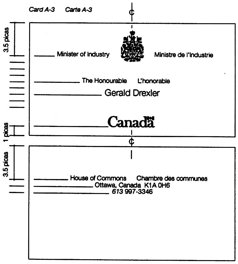 Carte Fip Canada.Federal Identity Program Manual Canada Ca