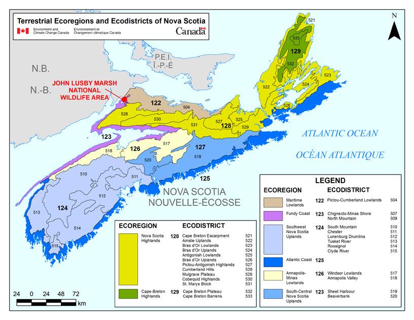 John Lusby Marsh National Wildlife Area Management Plan, 2016