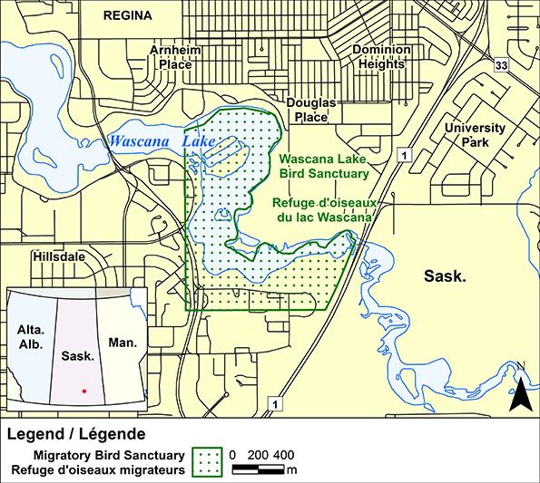Wascana Lake Migratory Bird Sanctuary Canadaca