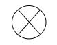 Symbol for radar target (suspected berg)