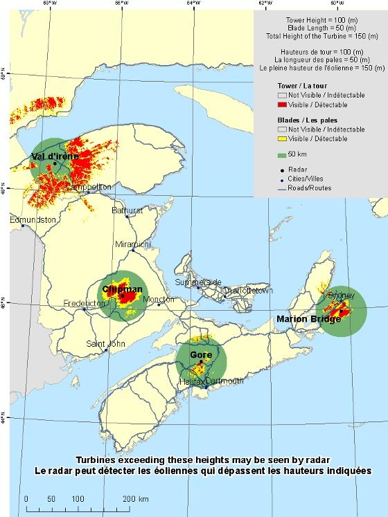 Map Of Canada New Brunswick.New Brunswick And Nova Scotia Radar Visibility Maps Canada Ca