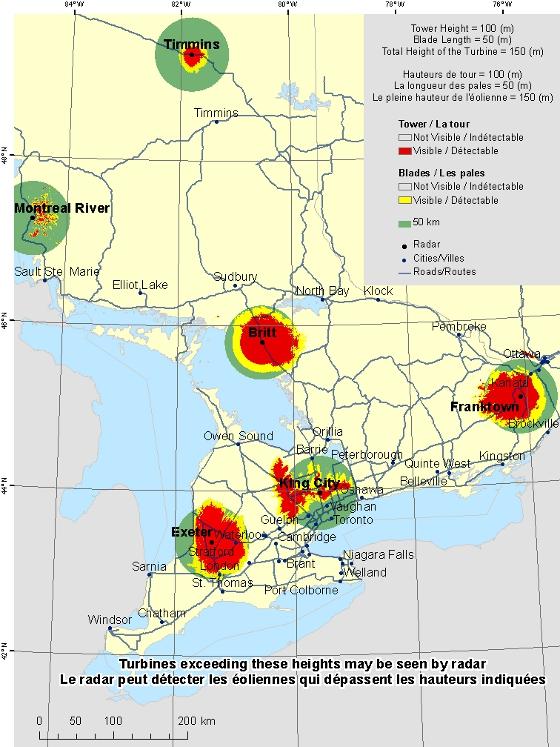 Southern Ontario Radar Visibility Maps Canada Ca