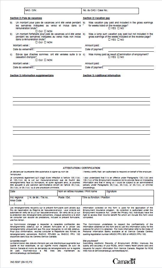 553159cb448a33 Formulaires « Demande de renseignements - Registres de paie ...