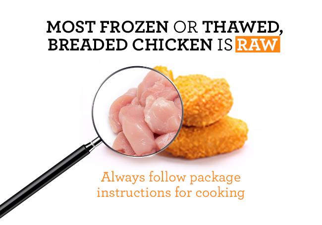 Frozen Raw Breaded Chicken Canada