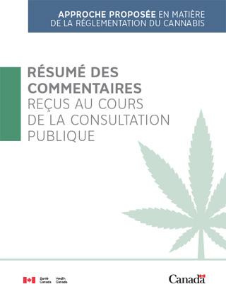 approche proposée en matière de la réglementation du cannabis