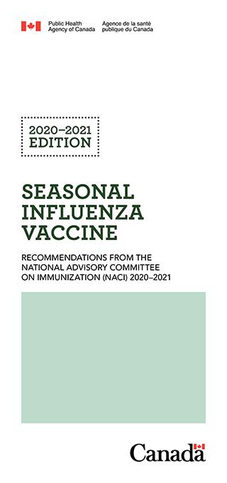 Seasonal Influenza Vaccine Pocket Guide 2020-2021 Edition ...