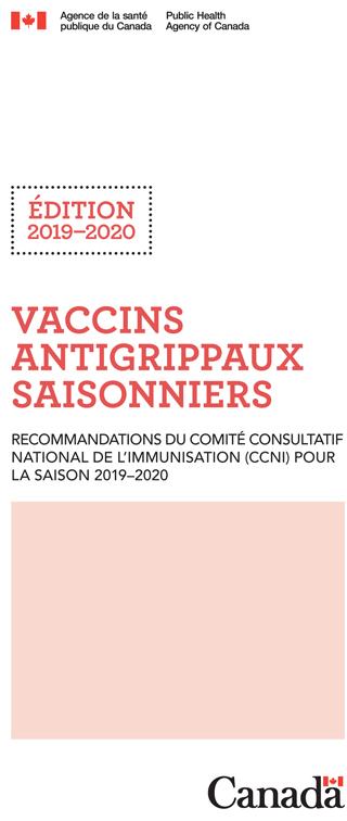 Calendrier Des Vaccinations Et Recommandations Vaccinales 2019.Guide De Poche Du Vaccin Antigrippal Saisonnier Edition