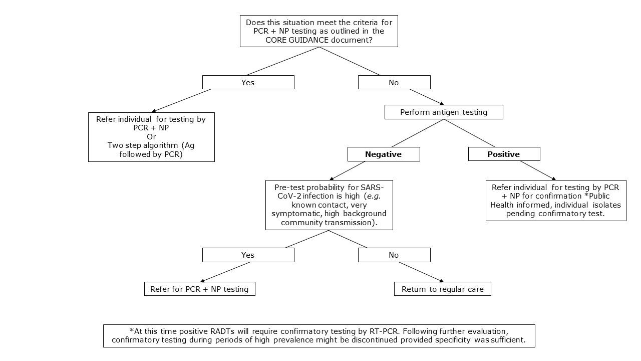 Interim guidance on the use of rapid antigen detection ...