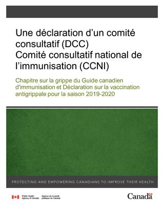 Calendrier Des Vaccinations Et Recommandations Vaccinales 2019.Chapitre Sur La Grippe Du Guide Canadien D Immunisation Et