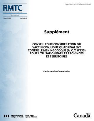 Vaccin Conjugue Quadrivalent Contre Le Meningocoque A C Y W135 Canada Ca