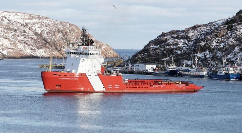Canadian Coast Guard Ship Captain Molly Kool