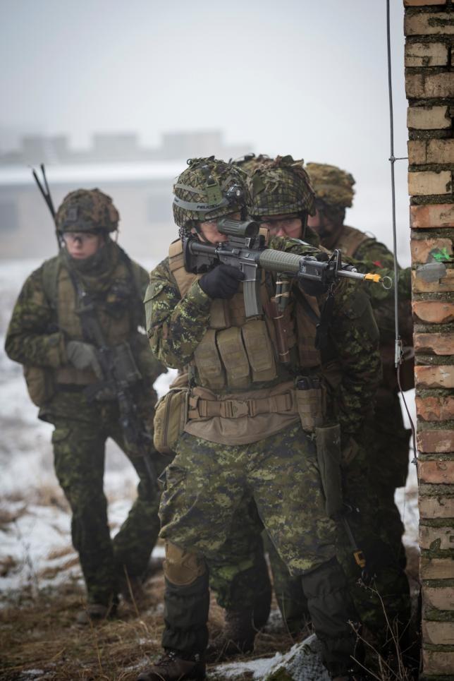 Canadian army photos