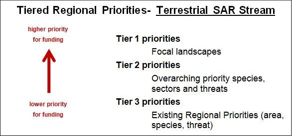 Tiered Regional Priorities