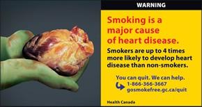 Major health concerns linked with cigarette smoking