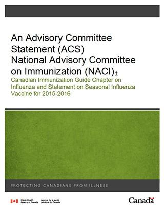 Statement on Seasonal Influenza Vaccine for 2015-2016 ...