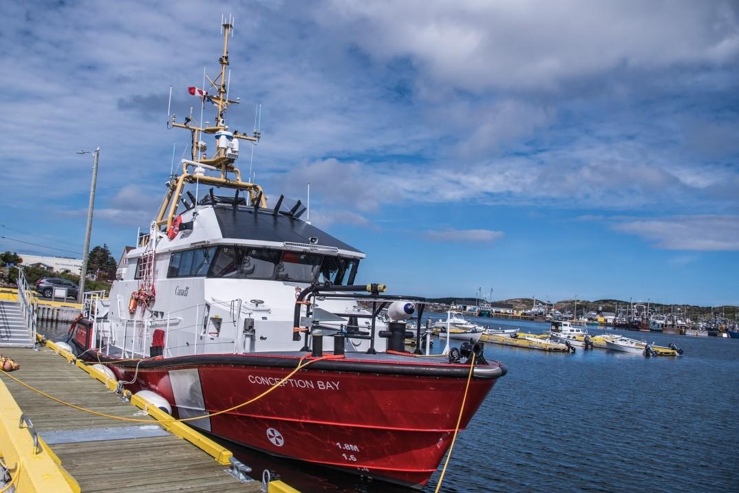 Le gouvernement du Canada renforce la capacité de recherche et de sauvetage maritime sur la côte nord-est de Terre-Neuve-et-Labrador