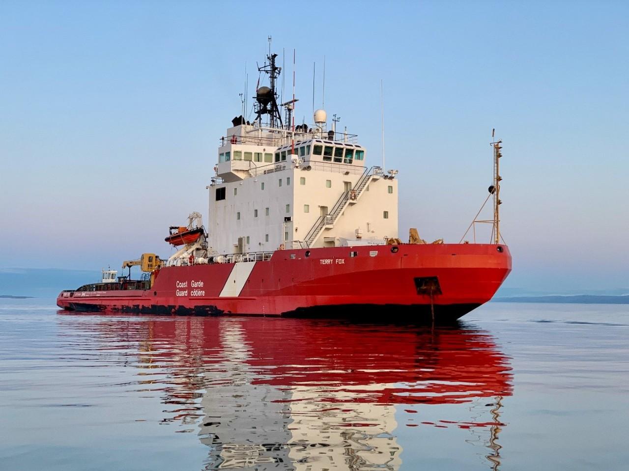 Les opérations de la Garde côtière canadienne en Arctique pour 2020 après la mi-saison