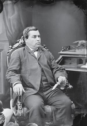 Auguste Renaud, député fédéral de la circonscription de Kent, au Nouveau-Brunswick