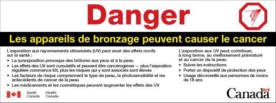 Bronzage Canada Appareils Étiquetage Et De ca QerCoxBWd